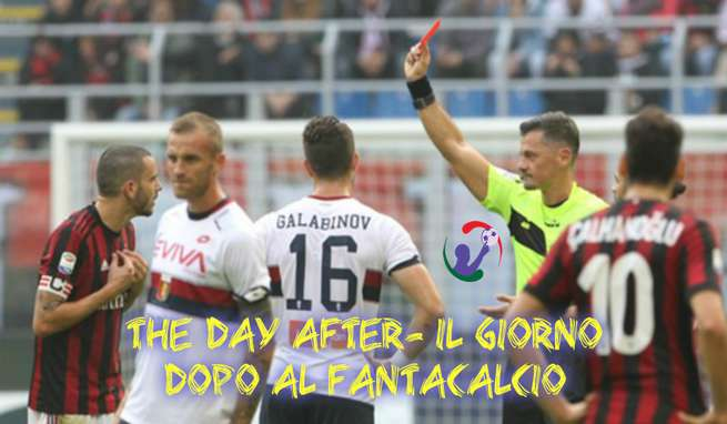 The day after- il giorno dopo al fantacalcio